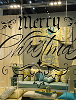 cheap -Window Film & Stickers Decoration Christmas Holiday PVC(PolyVinyl Chloride) Cool