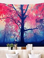 Недорогие -Пейзаж Декор стены 100% полиэстер Modern Предметы искусства, Стена Гобелены Украшение
