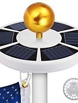 Недорогие -brlong солнечный свет контроль индукция 26led флаг свет 1 шт.