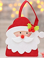 baratos -Sacos de Presentes / Enfeites de Natal Natal Tecido Não-Tecelado Novidades Decoração de Natal