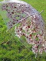 Недорогие -Нержавеющая сталь Жен. Солнечный и дождливой / обожаемый Зонт-трость