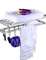 preiswerte -Badezimmer Regal Neues Design / Multifunktion Modern Edelstahl / Eisen 1pc Wandmontage