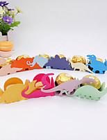 Недорогие -Кубик Мелованная бумага Фавор держатель с Вышивка бисером в виде цветов Подарочные коробки - 50шт