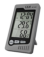 baratos -cem dt-322 casa multi-função termômetro eletrônico de alta precisão, higrômetro