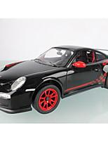 baratos -Carro com CR Rastar 42800-2 4CH 27MHz Carro 1:14 8 km/h KM / H Luzes / Controle Remoto