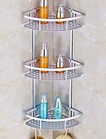 baratos -Prateleira de Banheiro Novo Design Moderna Alumínio 1pç Montagem de Parede