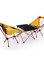 """Недорогие -BEAR SYMBOL Складное туристическое кресло / Туристический стол На открытом воздухе Легкость, Противозаносный, Воздухопроницаемость Ткань """"Оксфорд"""", Алюминий 7075 для Рыбалка / Походы Оранжевый"""