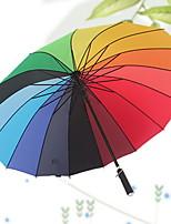 Недорогие -Ткань Жен. Солнечный и дождливой Зонт-трость