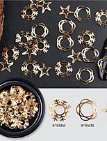 cheap -1 pcs Nail Jewelry Multi Function / Best Quality Star Snowflake nail art Manicure Pedicure Christmas / Daily Fashion