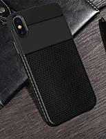 abordables -Coque Pour Apple iPhone XS / iPhone XR Relief Coque Couleur Pleine Flexible TPU pour iPhone XS / iPhone XR / iPhone XS Max