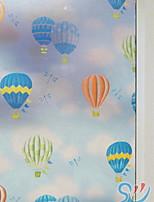 Недорогие -Оконная пленка и наклейки Украшение Простой С принтом ПВХ Стикер на окна