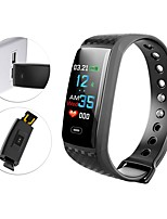 cheap -Smart Bracelet Smartwatch YY-CK17s for Android iOS Bluetooth Sports Waterproof Heart Rate Monitor Blood Pressure Measurement Touch Screen Pedometer Call Reminder Activity Tracker Sleep Tracker