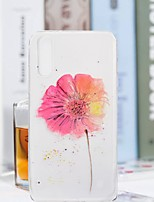 abordables -Coque Pour Huawei P20 Pro / P20 lite Transparente / Motif Coque Fleur Flexible TPU pour Huawei P20 / Huawei P20 Pro / Huawei P20 lite
