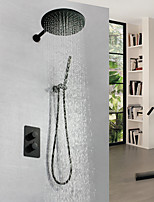 cheap -Shower Faucet - Contemporary Painting Wall Mounted Brass Valve