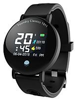 abordables -Bracelet à puce Y6PLUS pour Android iOS Bluetooth Sportif Imperméable Moniteur de Fréquence Cardiaque Mesure de la pression sanguine Calories brulées Podomètre Rappel d'Appel Moniteur de Sommeil