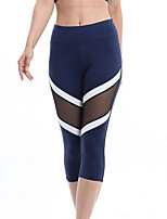 cheap -Women's Daily Basic Legging - Color Block Mid Waist