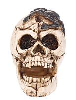 Недорогие -Праздничные украшения Украшения для Хэллоуина Хэллоуин Развлекательный Декоративная / Cool Бежевый 1шт