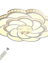Недорогие -UMEI™ Геометрический принт / Оригинальные Монтаж заподлицо Рассеянное освещение - Хрусталь, Новый дизайн, 110-120Вольт / 220-240Вольт, Теплый белый / Белый / Диммируемый с дистанционным управлением,