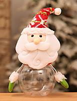 baratos -Natal Férias Flanela Quadrada Festa Decoração de Natal