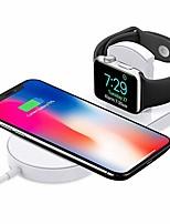 Недорогие -Беспроводное зарядное устройство Зарядное устройство USB USB с кабелем / QC 3.0 / Беспроводное зарядное устройство 1 A DC 9V / DC 5V для iPhone X / iPhone 8 Pluss / iPhone 8