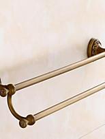 Недорогие -Держатель для полотенец Многослойный / Новый дизайн Античный Латунь 1шт Двуспальный комплект (Ш 200 x Д 200 см) На стену