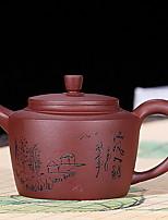 Недорогие -Фарфор Heatproof / Телесный / Чайный нерегулярный 1шт чайник