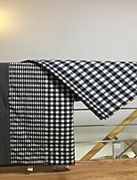 baratos -Confortável - 1 Cobertura de Cama Verão Algodão Xadrez / Quadrados