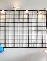 baratos -1.5m Cordões de Luzes 10 LEDs Branco Quente Decorativa / Legal Baterias AA alimentadas