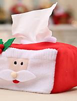baratos -Armazenamento para artigos Natalinos Desenho Tecido / Não-Tecelado Rectângular Novidades Decoração de Natal