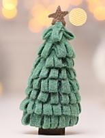 Недорогие -Новогодние ёлки Новогодняя ёлка Ткань Рождественская елка Оригинальные Рождественские украшения