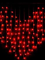 Недорогие -2м Гирлянды 128 светодиоды Розовый Очаровательный / Декоративная 220-240 V 1 комплект