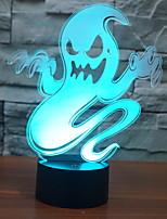 Недорогие -1шт LED Night Light USB Новый дизайн / Cool / прикроватный 5 V
