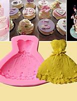 Недорогие -Инструменты для выпечки Силиконовый гель Очаровательный Шоколад Формы для пирожных 1шт