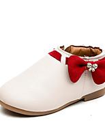 Недорогие -Мальчики / Девочки Обувь Искусственная кожа Весна & осень / Осень Удобная обувь На плокой подошве для Дети / Для подростков Бежевый / Серый / Розовый