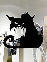 Недорогие -Оконная пленка и наклейки Украшение Хэллоуин Праздник ПВХ Стикер на окна / Cool