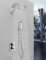 billiga -Duschkran - Nutida Krom Väggmonterad Mässing Ventil