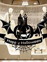 billiga -Fönsterfilm och klistermärken Dekoration Halloween Semester pvc Häftig