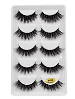 cheap -Eyelash Extensions 10 pcs Thick Pro Natural Curly Animal wool eyelash Daily Wear Thick - Makeup Daily Makeup Stylish High Quality Cosmetic Grooming Supplies