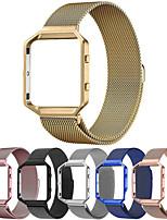 abordables -Bracelet de Montre  pour Fitbit Blaze Fitbit Bracelet Milanais Acier Inoxydable Sangle de Poignet