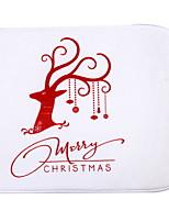Недорогие -рождественский коврик рождественский полистер, квадратный коврик высшего качества