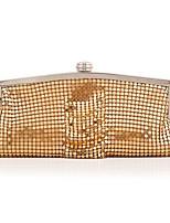 cheap -Women's Bags Alloy Evening Bag Sequin / Buttons Gold