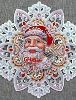abordables -Décorations de Noël Vacances PVC cube Nouveautés Décoration de Noël