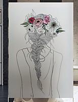 Недорогие -Оконная пленка и наклейки Украшение Обычные Персонажи ПВХ Новый дизайн / обожаемый / Cool