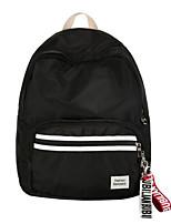 Недорогие -Жен. Мешки Нейлон рюкзак Однотонные Сплошной цвет Черный / Серый / Красный