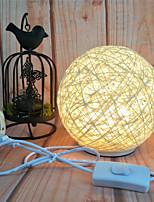 Недорогие -HKV 1 комплект LED Night Light Триколор От электросети Креатив / прикроватный / Атмосферная лампа 220-240 V