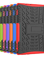 baratos -Capinha Para Huawei MediaPad M3 Lite 10 Antichoque / Com Suporte Capa traseira Azulejo / Armadura Rígida PC para Huawei MediaPad M3 Lite 10