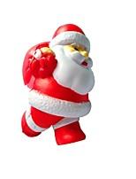 Недорогие -Резиновые игрушки Устройства для снятия стресса Костюмы Санта Клауса Очаровательный Фокусная игрушка Товары для офиса Поливинилхлорид 1 pcs Дети Взрослые Все Игрушки Подарок
