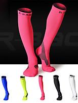 Недорогие -Спортивные носки / спортивные носки / Носки для бега Муж. Сжатие видеоизображений / Стреч - 1 пара для Бадминтон / Бег / Велоспорт / Спандекс / Эластичная
