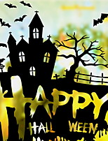 cheap -Window Film & Stickers Decoration Halloween Holiday PVC(PolyVinyl Chloride) Cool