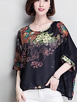 Недорогие -женская кофточка - цветочная шея